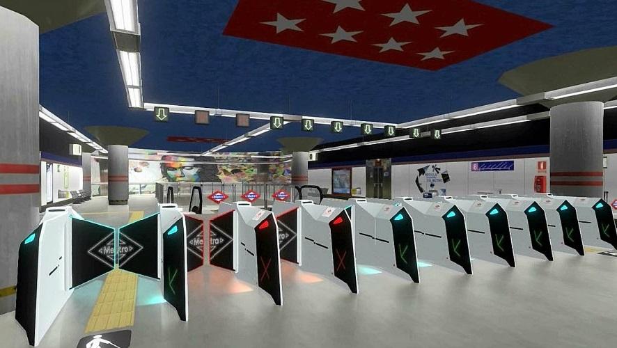 """La renovada estación de Metro de Gran Vía contará con """"los tornos del futuro"""""""