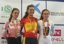 La madrileña Almudena Morales, plata en los campeonatos de España de ciclismo en pista de Tafalla