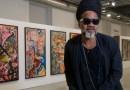 Carlinhos Brown presenta en Madrid su exposición de pinturas sobre Brasil y su Carnaval