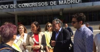 Pepu Hernández y Reyes Maroto anuncian la próxima reapertura del Palacio de Congresos de Madrid