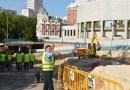 El PSOE reclama que «se garantice la integridad del arbolado» durante las obras en Plaza de España
