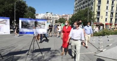 Avanza a buen ritmo la remodelación del área intermodal de la avenida de Felipe II