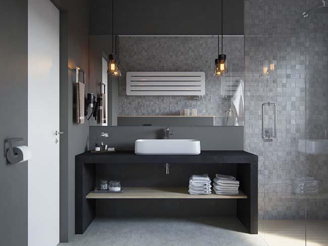 Màu sắc phòng tắm