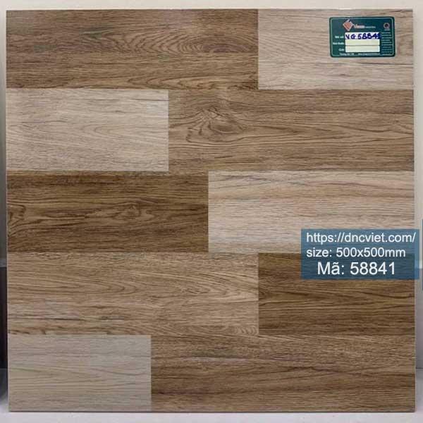 gạch giả gỗ lát nền 50x50 royal 58841
