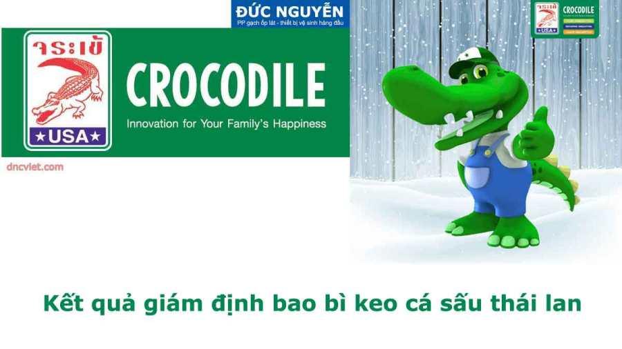 Giám định hàng hóa keo cá sấu thái lan