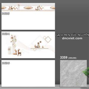 bộ gạch ốp tường 30x60 catalan 3634