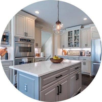 Realtor Photo Kitchen Circle