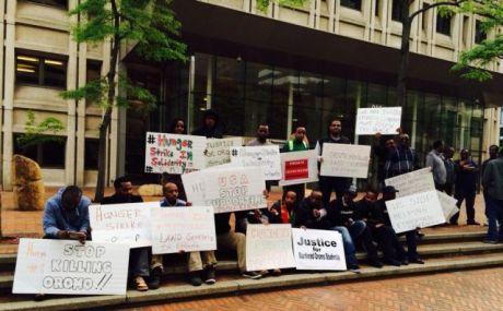 OromoProtestsHungerStrikeSeattle20144