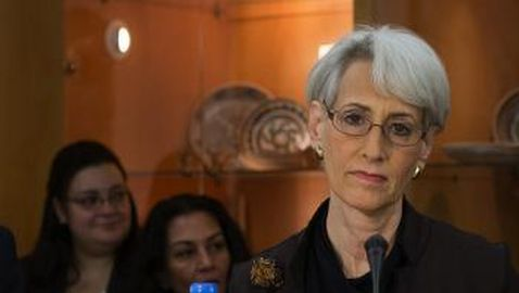 <em>U.S. Under-Secretary of State for Political Affairs Wendy Sherman praised the Ethiopian 'democracy,' despite U.S. assessments of the oppressive Ethiopian government to the contrary [see speech of U.S. Under-Secretary of State for Political Affairs Wendy Sherman in Addis Ababa, Ethiopia, on April 16, 2015]</em>