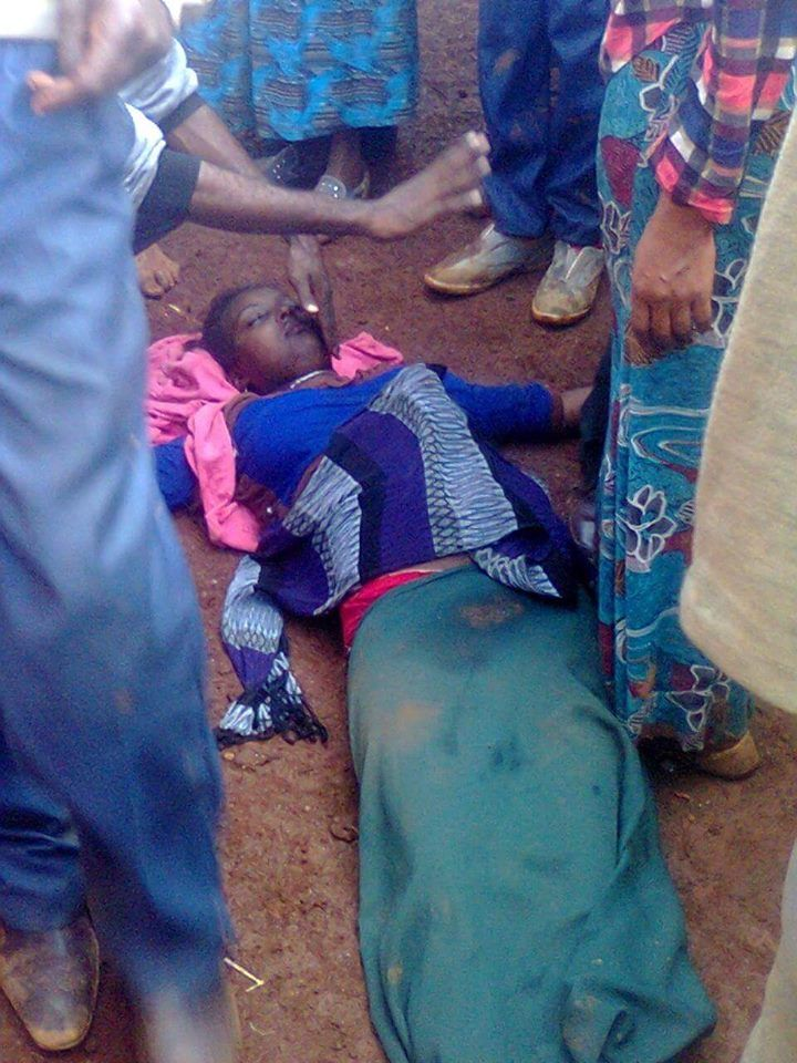 An Oromo schoolchild killed by the Federal police during a peaceful protest against the Master Plan
