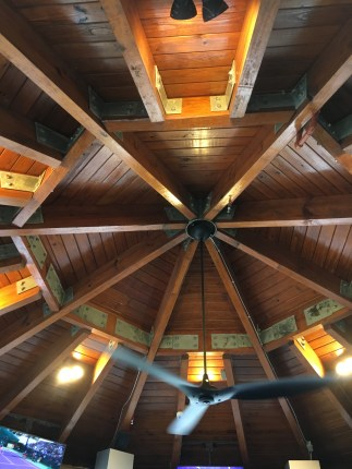 Marriott Ocean Pointe Pool Bar Nautical Looking Roof Interior
