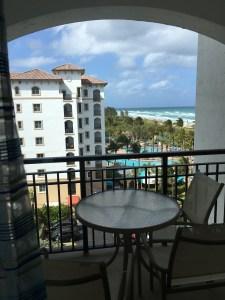 Marriott Ocean Pointe room view