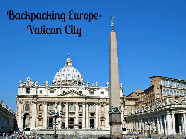 Backpacking Europe-Vatican City