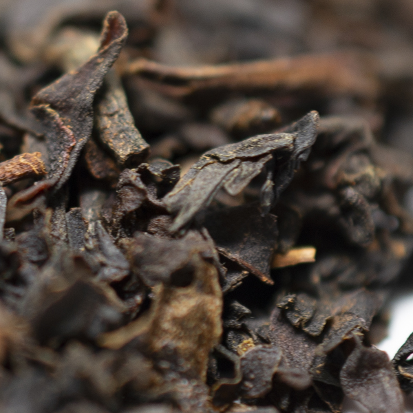 Black tea-bergamot-close-up