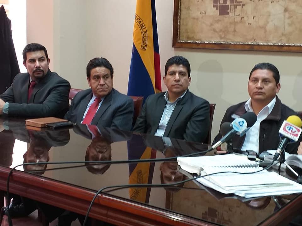 [#ANUNCIO] Conjuntamente con los Alcaldes de la provincia del Cañar, hoy el prim