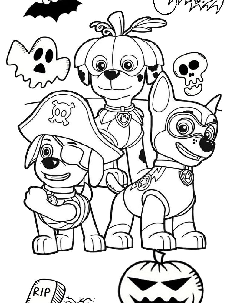 Paw Patrol Mighty Pups Coloring Pages Printable Novocom Top