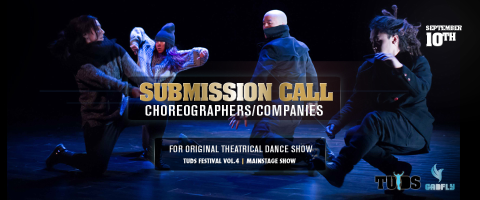 Submission Call for Professional Urban Dance Production
