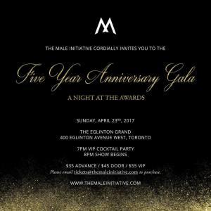 Male Initiative Gala @ Eglinton Theatre