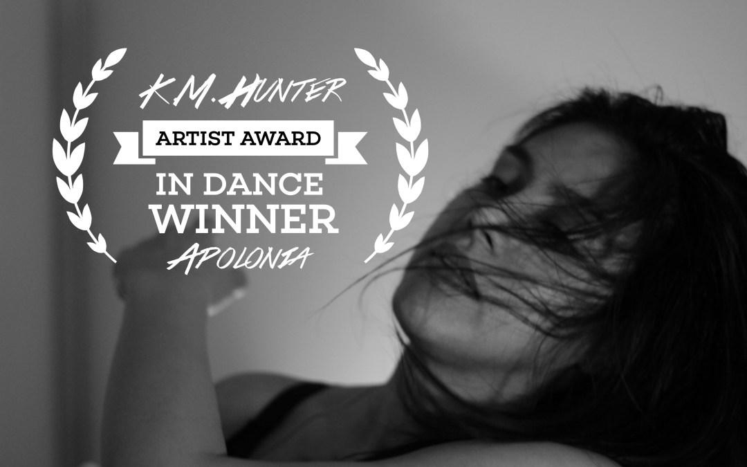 KM Hunter Artist Award winner – APOLONIA