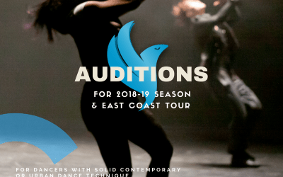 Gadfly Company Dance Auditions 2018
