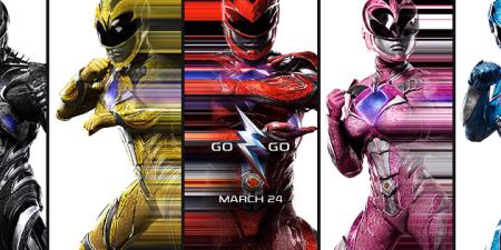 Los trailers de la película de los Power Rangers se convierten en la intro de la serie original