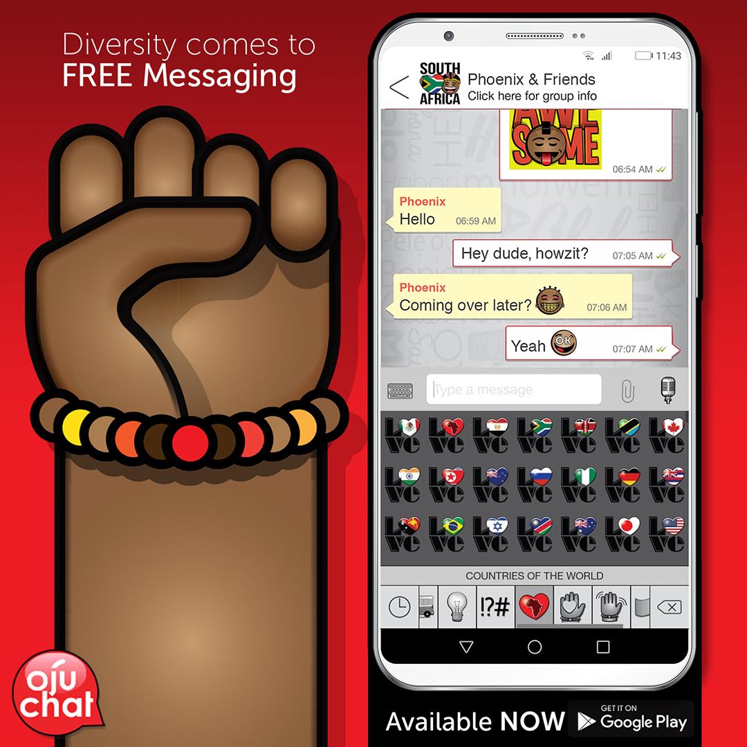 OjuChat – new chat app celebrates diversity