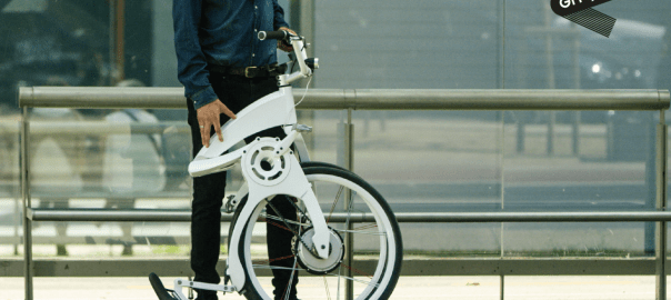 Gi FlyBike foldable e-bike
