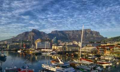 bay boats cape town cityscape