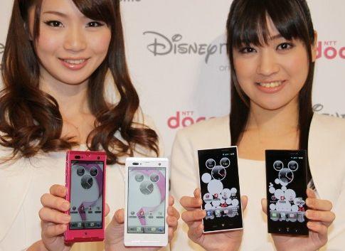 ドコモの新ブランド発表 Disney Mobile on docomo スマートフォン2機種