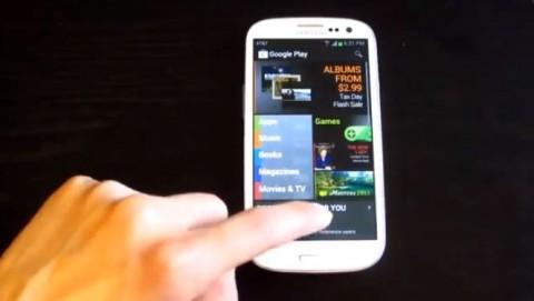 ジェスチャーでAndroidを操作できる アプリ「Swipe Home Button」