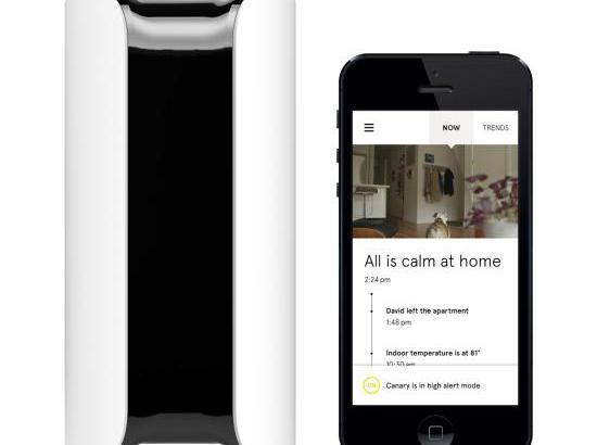 家のセキュリティーをスマホで管理できるデバイスCANARY