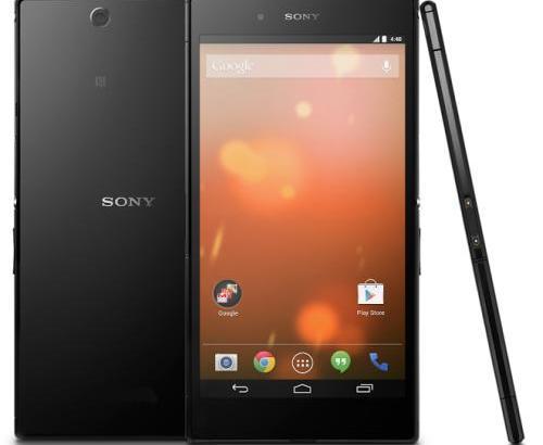 SIMフリーのSony Z Ultra Google Play Editionが登場!現状は日本の発売は無し
