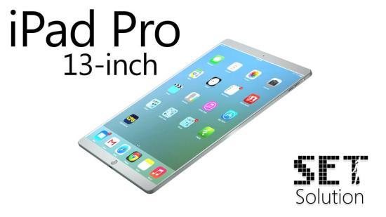 非公式だけどリアリティのある 13インチ、iPad Proのコンセプトモデル
