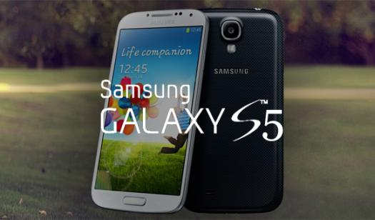 Samsung、防水・防塵仕様の「Galaxy S5」を正式に発表!指紋認証機能に対応