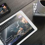 スマホ画面を拡大表示しタブレットのように操作できるデバイスSuperscreen