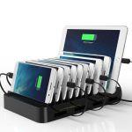 複数のデバイスを充電するために便利な10ポート以上を備えている充電ステーション