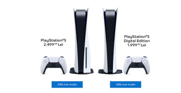 PlayStation 5 la precomandă prin eMAG în ambele configurații : Gadget.ro –  Hi-Tech Lifestyle