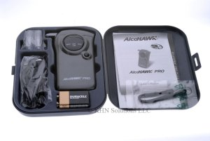 AlcoHAWK PRO: Professional Edition Digital Breathalyzer Alcohol Detector