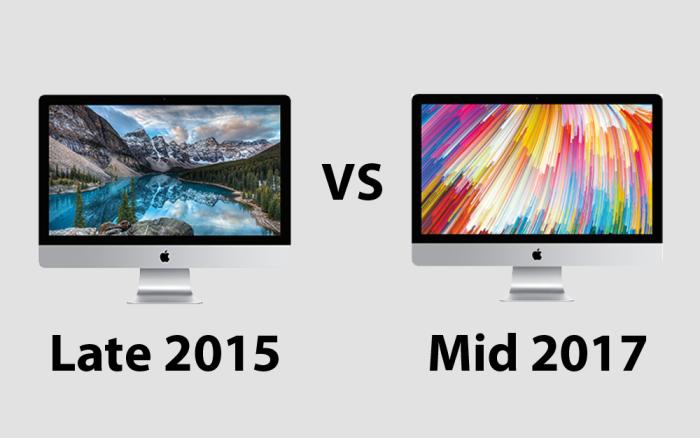 iMac スペック比較