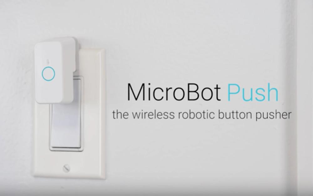 手軽にエアコンやお風呂をリモート化できる「マイクロボット・プッシュ(Microbot Push)」がスゴイ!