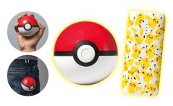 ポケモンGOユーザー必携!! モンスターボールとピカチュウ仕様のポケモンセンターオリジナルモバイルバッテリーを発売