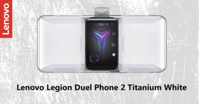 Lenovo launches the latest Legion Duel Phone 2 in Titanium White