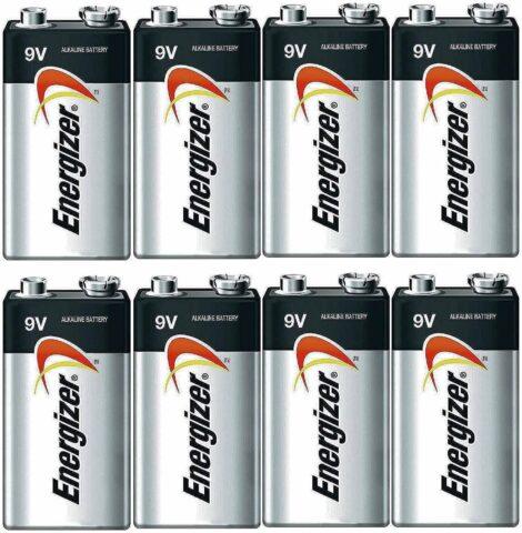 Energizer E522 Max 9V Alkaline battery