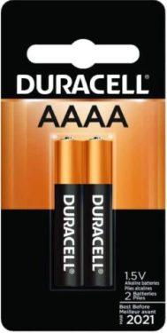 Duracell Ultra AAAA Alkaline battery