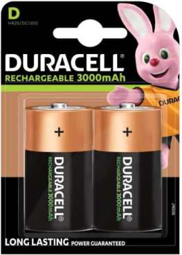 Duracell Rechargeable D Batteries