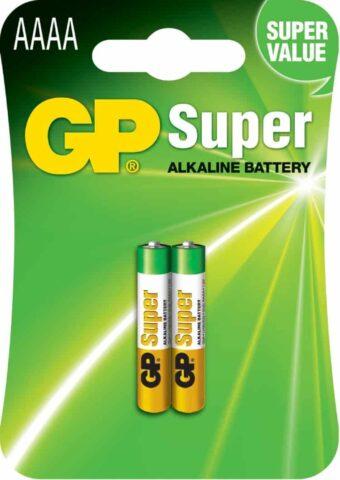 GP SUPER AAAA ALKALINE BATTERY