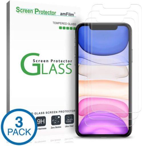 amFilm screen protector 3pack