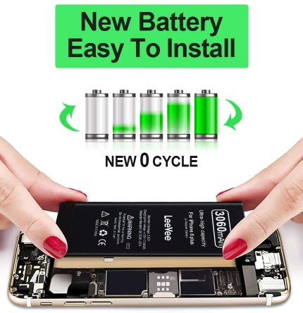 LeeVee iPhone 8plus replacement battery