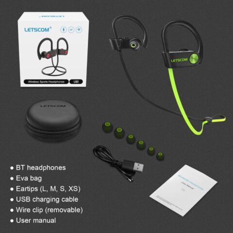 LETSCOM Bluetooth Earphones