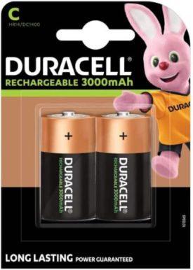 Duracell Rechargeable C Batteries